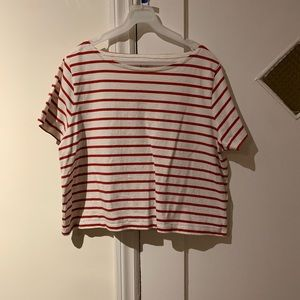 Madewell Striped Boxy top